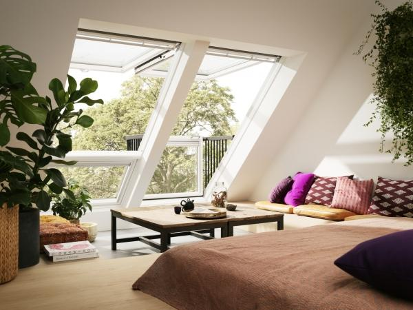 Окна-балкон VELUX CABRIO