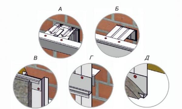 Горизонтально-вертикальное крепление для плит из натурального камня