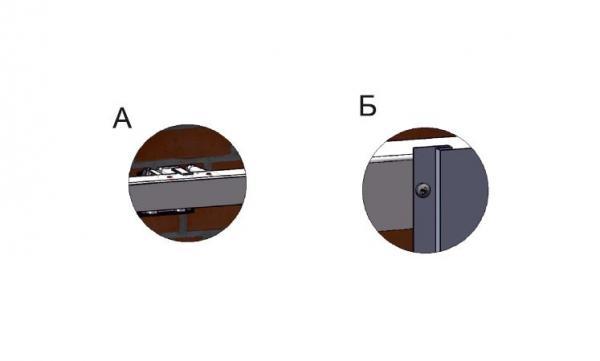 Вертикальное крепление сайдинга, профнастила