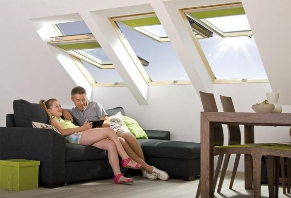 Мансардные окна с комбинированной системой открывания preSelect